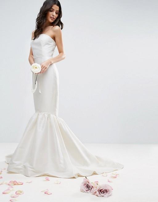 ASOS BRIDAL Trumpet Hem Maxi Dress - Liyanah