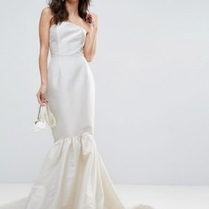 ASOS BRIDAL Trumpet Hem Maxi Dress - Liyanah