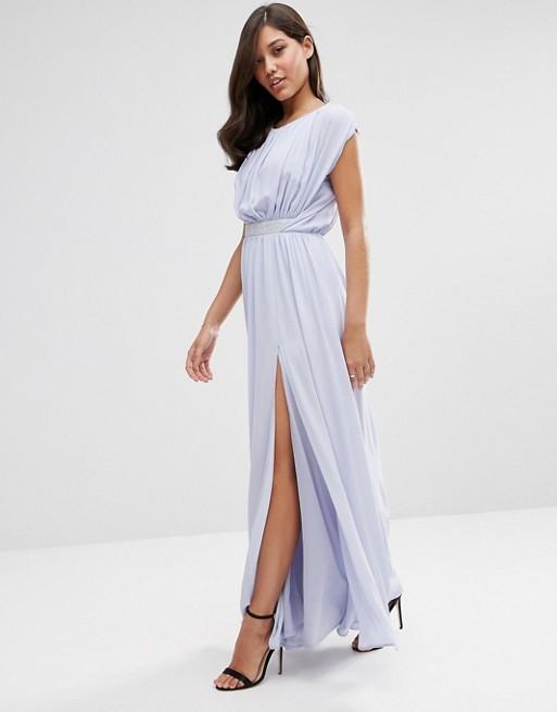 ASOS Embellished Waist Maxi Dress - Liyanah