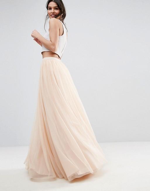 Liyanah - ASOS Tulle Maxi Prom Skirt