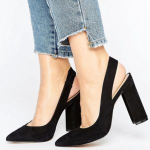 ALDO Looker Sling Back Block Heeled Shoe - Liyanah