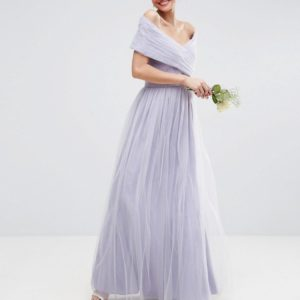 ASOS WEDDING Tulle Maxi Dress - Liyanah