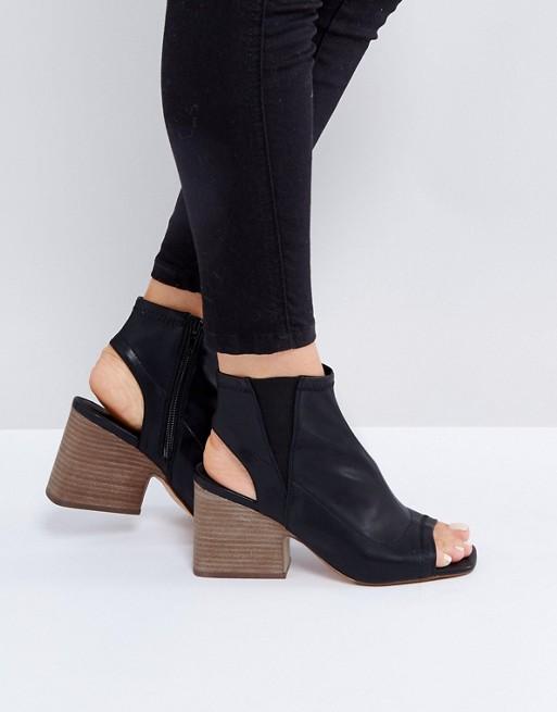 ASOS REPLAY ME Black Shoe Boots - Liyanah
