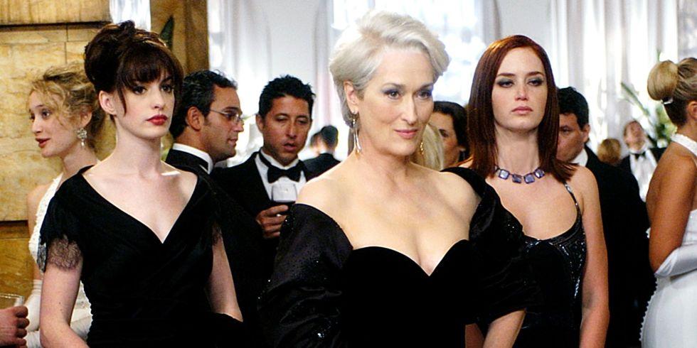 Anne Hathaway and Meryl Streep on Devil Wears Prada