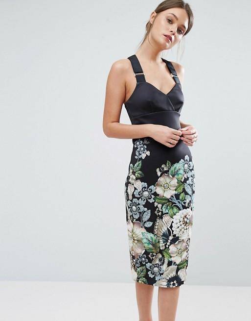 Ted Baker Jayer Midi Dress - Liyanah