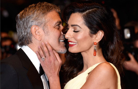 George and Amal Clooney cutest moments