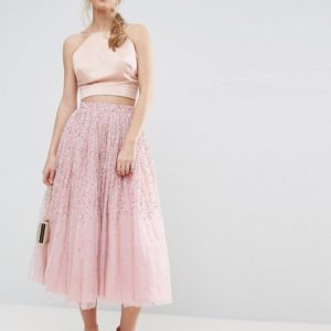 ASOS Tulle Prom Skirt with Embellishment - Liyanah
