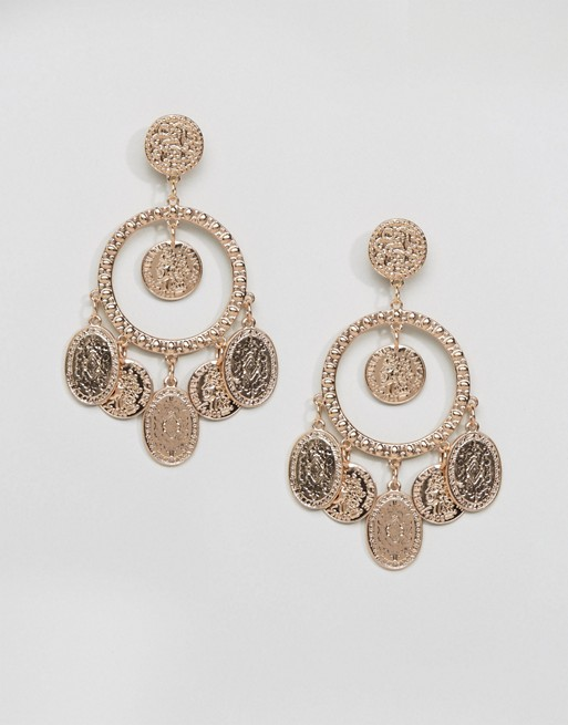 Ashiana Festival Coin Detail Earrings - Liyanah