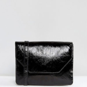 Monki Cracked Patent Lady Bag - Liyanah