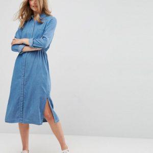 Vila Denim Shirt Dress - Liyanah
