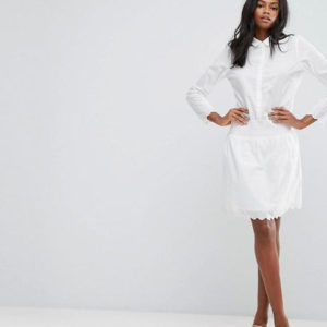 Y.A.S Embroidered Long Sleeve Dress - Liyanah