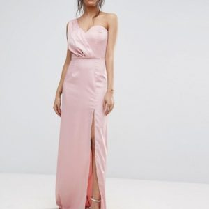Missguided One Shoulder Maxi Dress - Liyanah