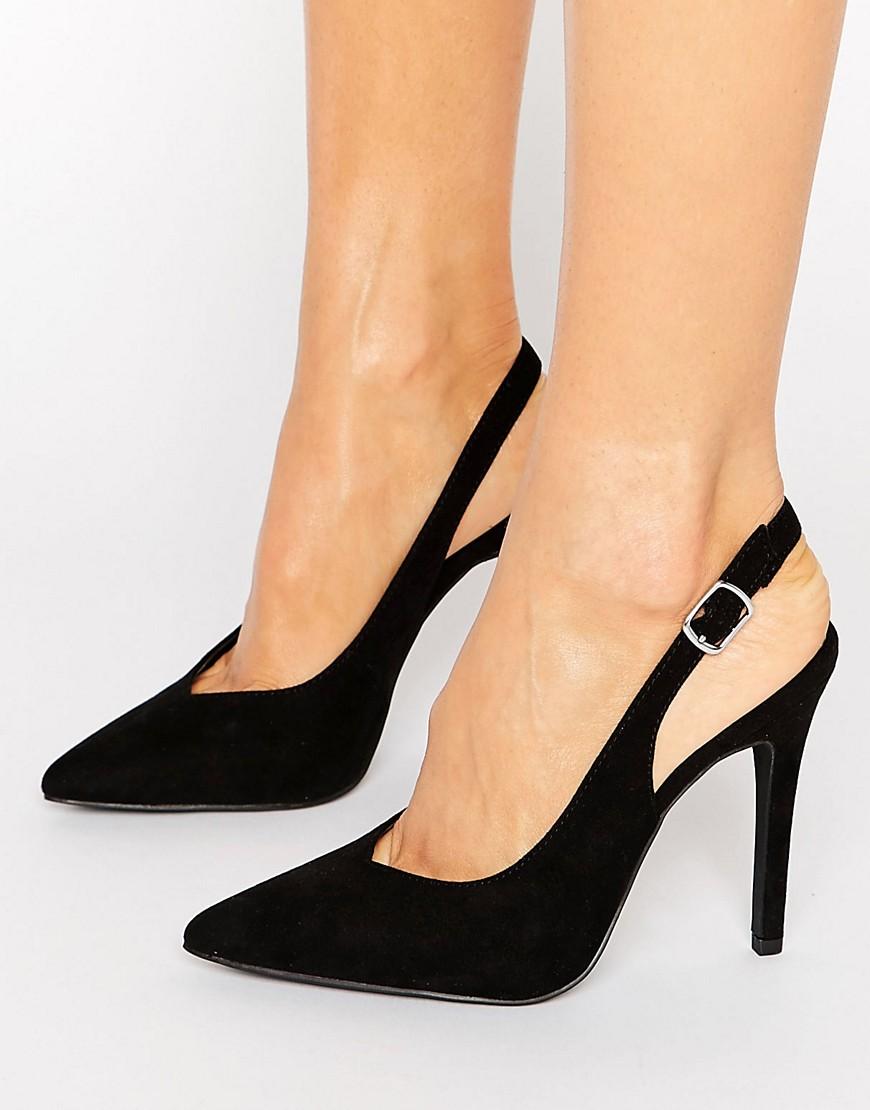 New Look Suedette Slingback Heel - Liyanah