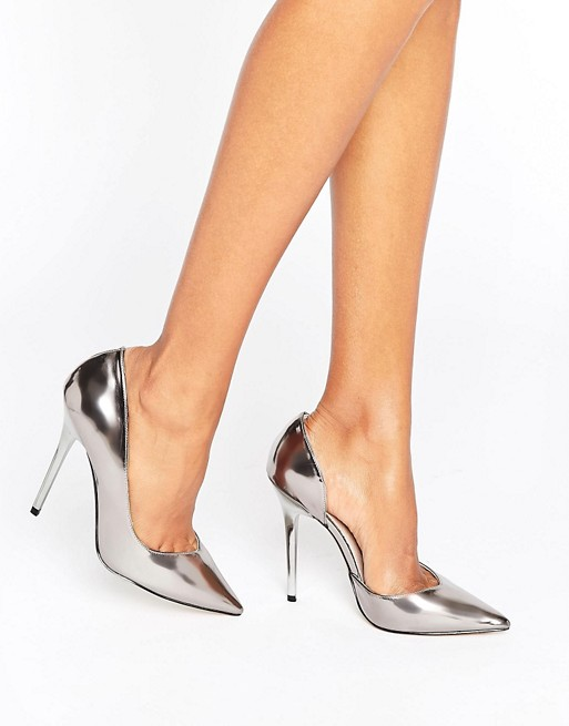 Office Shadow Pewter Mirror Courts - Liyanah