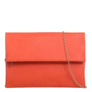 Red Clutch Bag By Koko Couture Topshop - Liyanah