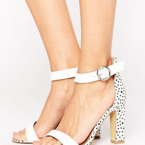 The March Spot Barely There Heeled Sandals - Liyanah