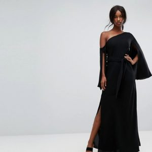 C Meo Collective Beyond Me One Shoulder Maxi Dress - Liyanah