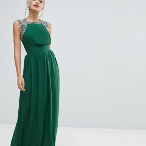 TFNC Petite WEDDING Embellished Back Maxi Dress - Liyanah