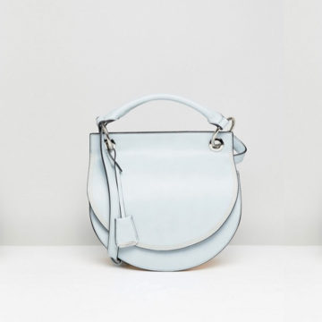 Glamorous Light Blue Cross Body Bag - Liyanah