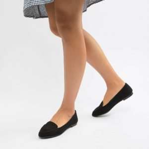 New Look Black Loafer - Liyanah.co