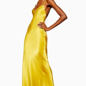 Topshop Satin Chain Maxi Dress - Liyanah