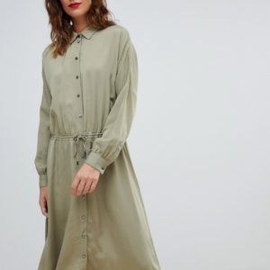 Boss Casual shirt dress with drawstring belt