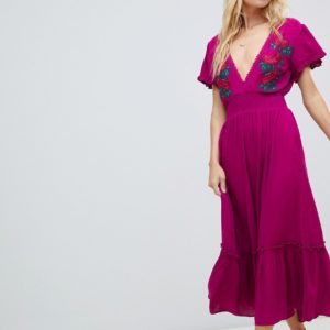 Cleobella Capri embroidered maxi dress