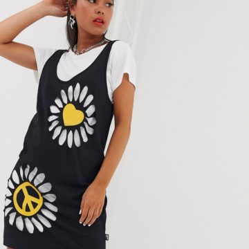Love Moschino double layer t-shirt dress