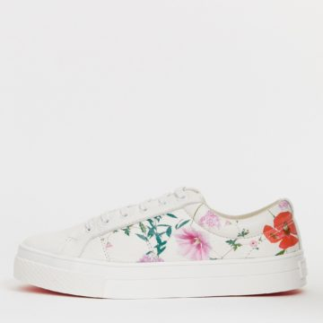 Ted Baker Ephielp printed leather trainers - Liyanah