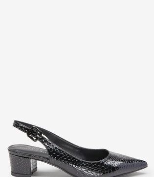 Point Block Slingbacks - Liyanah