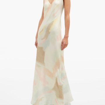 RAT & BOA Liberty pastel tie-dye slip dress - Liyanah