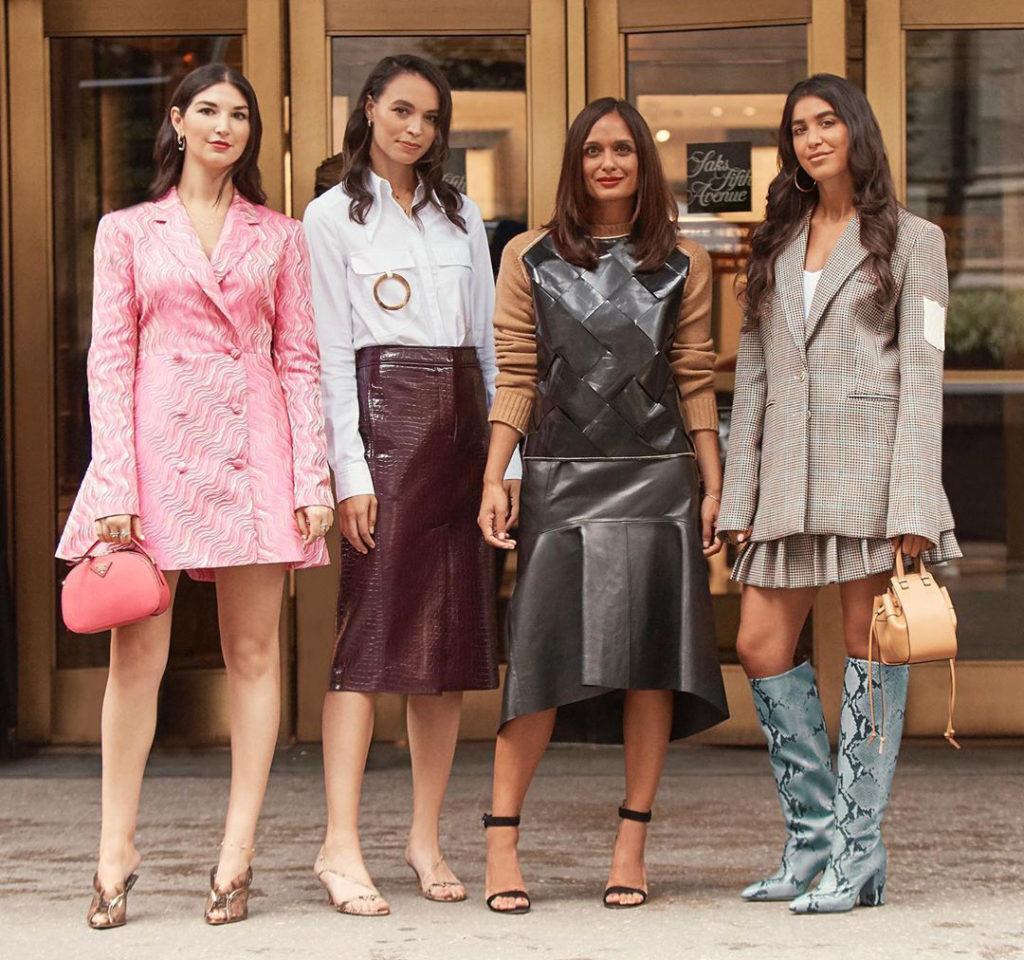 Saks Fifth Avenue - New York Fashion Week Radar Edit Street Style - Liyanah Girls Fashion Office - Liyanah