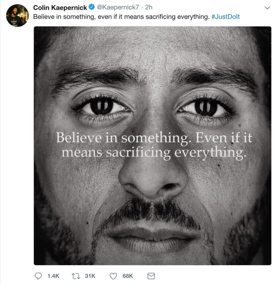 Colin Kaepernick Black Lives Matter - Liyanah.co
