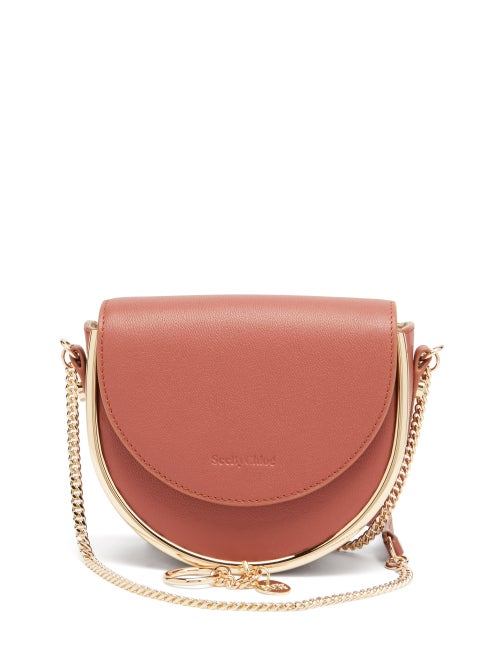 SEE BY CHLOÉ Mara grained-leather small cross-body bag